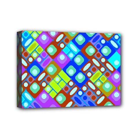 Pattern Factory 32b Mini Canvas 7  X 5  by MoreColorsinLife