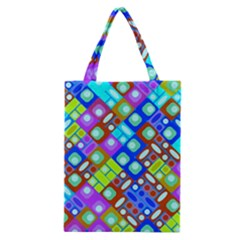 Pattern Factory 32b Classic Tote Bag by MoreColorsinLife