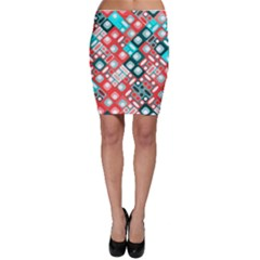 Pattern Factory 32d Bodycon Skirt by MoreColorsinLife