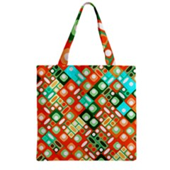 Pattern Factory 32c Grocery Tote Bag by MoreColorsinLife