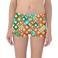Pattern Factory 32c Reversible Boyleg Bikini Bottoms by MoreColorsinLife