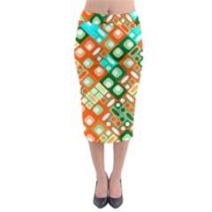 Pattern Factory 32c Midi Pencil Skirt by MoreColorsinLife