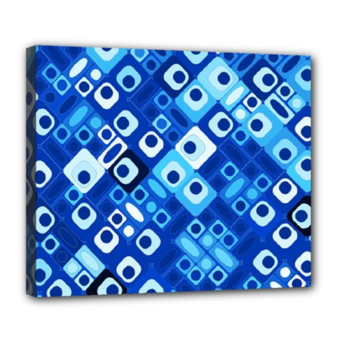 Pattern Factory 32e Deluxe Canvas 24  X 20   by MoreColorsinLife