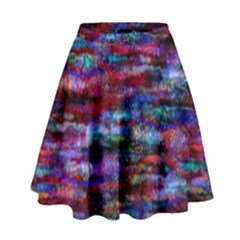 Fairy Earth Tree Texture Pattern High Waist Skirt by KirstenStar