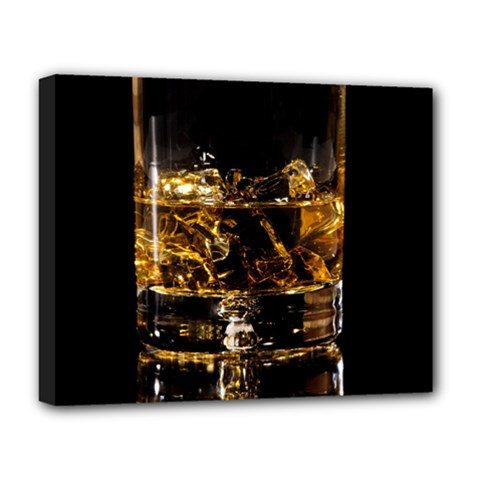 Drink Good Whiskey Deluxe Canvas 20  X 16   by BangZart