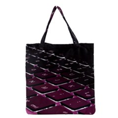 Computer Keyboard Grocery Tote Bag by BangZart