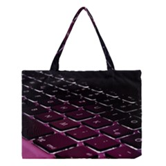 Computer Keyboard Medium Tote Bag by BangZart