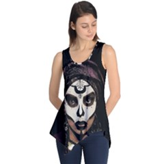 Voodoo  Witch  Sleeveless Tunic by Valentinaart