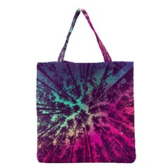 Just A Stargazer Grocery Tote Bag by augustinet