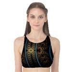 lines_dark_patterns_background_spots_82314_3840x2400 Tank Bikini Top