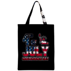 4th Of July Independence Day Zipper Classic Tote Bag by Valentinaart