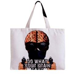 Do What Your Brain Says Mini Tote Bag