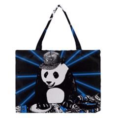 Deejay Panda Medium Tote Bag by Valentinaart