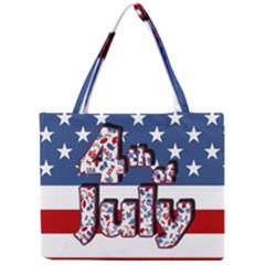 4th Of July Independence Day Mini Tote Bag by Valentinaart