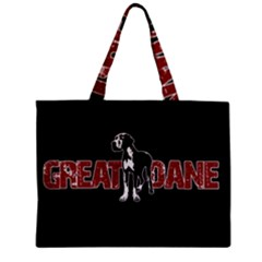 Great Dane Zipper Mini Tote Bag by Valentinaart