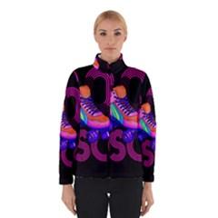 Roller Skater 80s Winterwear by Valentinaart