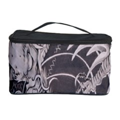 Chinese Dragon Tattoo Cosmetic Storage Case by Onesevenart