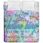 Drake 1 800 Hotline Bling Duvet Cover Double Side (California King Size)