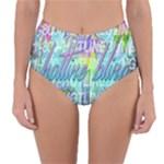 Drake 1 800 Hotline Bling Reversible High-Waist Bikini Bottoms