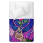 Enchanted Rose Stained Glass Duvet Cover (Single Size)