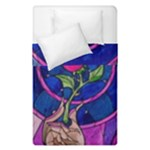 Enchanted Rose Stained Glass Duvet Cover Double Side (Single Size)