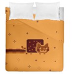 Nyan Cat Vintage Duvet Cover Double Side (Queen Size)
