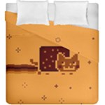 Nyan Cat Vintage Duvet Cover Double Side (King Size)