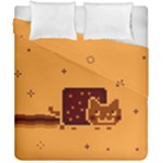 Nyan Cat Vintage Duvet Cover Double Side (California King Size)