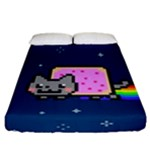 Nyan Cat Fitted Sheet (California King Size)