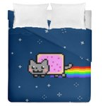 Nyan Cat Duvet Cover Double Side (Queen Size)