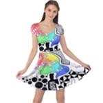 Panic ! At The Disco Cap Sleeve Dress