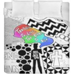 Panic ! At The Disco Duvet Cover Double Side (King Size)