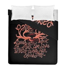 Panic At The Disco   Lying Is The Most Fun A Girl Have Without Taking Her Clothes Duvet Cover Double Side (full/ Double Size) by Onesevenart