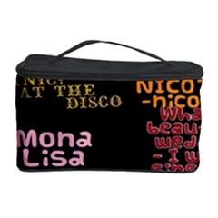 Panic At The Disco Northern Downpour Lyrics Metrolyrics Cosmetic Storage Case by Onesevenart