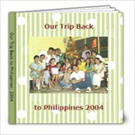 Our Trip Back to Philippines - 8x8 Photo Book (20 pages)