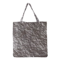 Crumpled Foil 17b Grocery Tote Bag by MoreColorsinLife