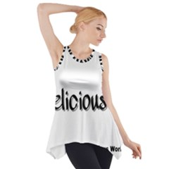 Belicious Logo Side Drop Tank Tunic by beliciousworld