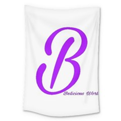 Belicious World  b  Purple Large Tapestry by beliciousworld