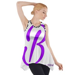 Belicious World  b  Blue Side Drop Tank Tunic by beliciousworld