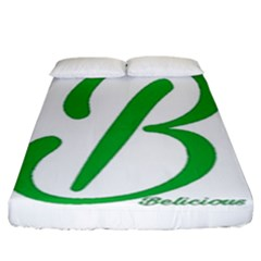 Belicious World  b  In Green Fitted Sheet (king Size) by beliciousworld