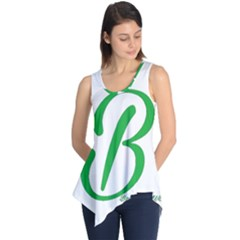 Belicious World  b  In Green Sleeveless Tunic by beliciousworld