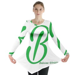 Belicious World  b  In Green Long Sleeve Tunic  by beliciousworld