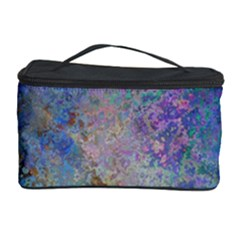 Colorful Pattern Blue And Purple Colormix Cosmetic Storage Case by paulaoliveiradesign