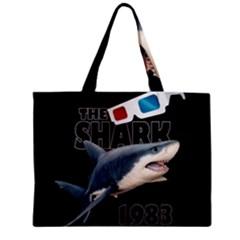 The Shark Movie Zipper Mini Tote Bag by Valentinaart