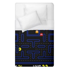 Pac Man Duvet Cover (single Size) by Valentinaart