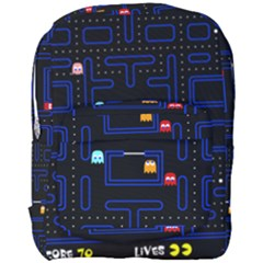 Pac Man Full Print Backpack by Valentinaart