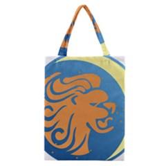 Lion Zodiac Sign Zodiac Moon Star Classic Tote Bag by Nexatart