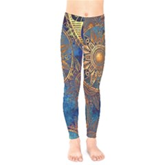 Abstract Pattern R 24 Resize Kids  Legging by amphoto