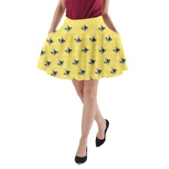 Big Mouth A Line Pocket Skirt by mundanemagicco