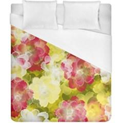 Flower Power Duvet Cover (california King Size) by designworld65